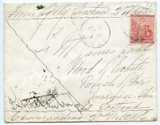 """Cape of Good Hope 1881 """"Soldiers Letter"""" 1st Boer War with 1d to Scotland."""