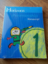 Horizon Penmanship 1 Set Student Workbook Teachers Guide Brand New Sealed