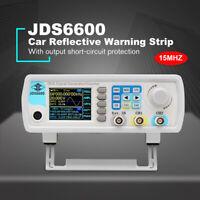 "JDS6600 15MHz Arbitrary Waveform Signal Generator 1Hz-100MHz Meter 2.4"" Display"