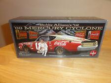 BOBBY ALLISON 1969 COCA-COLA #12 MERCURY CYCLONE 1/24 AUTOGRAPHED NASCAR HOF