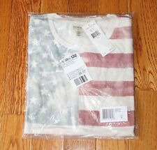 New $39.50 DENIM & SUPPLY T-Shirt Men's X-LARGE XL American Flag USA Americana