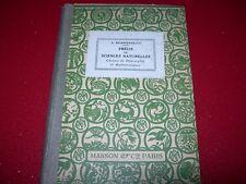 LIVRE SCOLAIRE ANCIEN PRECIS DE SCIENCES NATURELLES  1932  A. DEMOUSSEAU