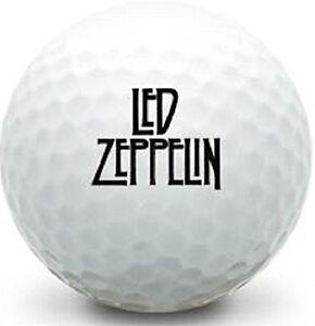 (3-Ball Gift Pack) Wilson Mix / AAAAA (Led Zeppelin Logo Golf Balls)