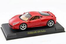 Ferrari 458 Italia année 2009 rouge 1:43 Altaya