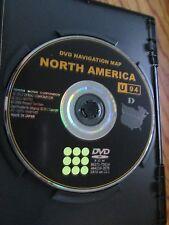 2010 2011 2012 TOYOTA  UPDATED NAVIGATION  DVD  MAP U94 DATA 12.1 FACTORY OEM