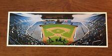 Don Mattingly Signed Bill Goff Yankee Stadium Post Card JSA COA & Free Shipping