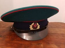 Rare ORIGINAL Russian Border Guard Sargent's Hat USSR Size 57 NICE Model 1969