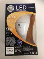 GE Lighting LED 17-watt 100-watt replacement 1600-Lumen A21 Bulb - Dimmable