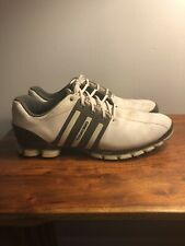 Adidas Tour 360 ATV Mens Size 12 White Grey Authentic $160 Golf Shoes