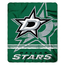 "NHL Dallas Stars License Fleece Throw Blanket 50"" x 60"" Hockey"