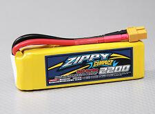 New Zippy Compact 2200mAh 3S 11.1V 35C 45C Lipo Battery Pack RC XT60 XT-60 USA
