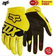 FOX Motocross Gloves Dirtpaw NEW Suzuki Yellow XL 2XL Adult Motorcross dirt bike