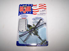 GI JOE MH-60K NIGHT HAWK DIE CAST AND OFFICIAL COLLECTORS DOG TAG