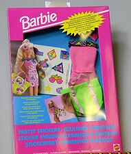 NUOVA Barbie Pretty ADESIVI. MATTEL 1992 Agg Nº 4535