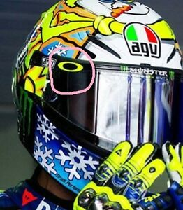 Oakley O's Visor Decals Rossi  x4 stickers all colours Free UK Post  READ ADVERT
