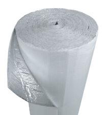 """US Energy 40sqft (48"""" x 10') Double Bubble White Reflective Foil Insulation"""