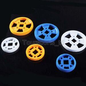 MXL Square Hole Gear 96T/64T Plastic Motor Gear Synchronous Pulley DIY Model
