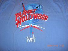 PLANET HOLLYWOOD **NEW** *RARE COLOR* PARIS T-Shirt (L) CLOSED
