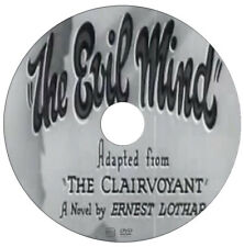 The Evil Mind - Claude Rains, Fay Wray - Drama, Mystery - 1935 - DVD