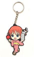 Gintama PVC Strap Keychain Charm Yorozuya Yato Tribe ~ Kagura GT01