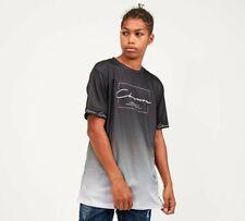 CLOSURE LONDON - Junior Box Logo Fade T-Shirt (Black) Kids