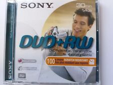 DVD+RW Mini 30Min 1,4GB 2x Jewelcase Sony DVD-Rohlinge