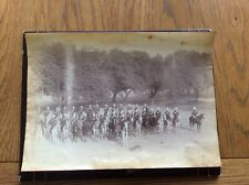 More details for victorian photo of the mounted band of the 5 th (irish) lancers