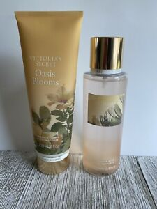 Victoria's Secret PINK Oasis Blooms Scented 8 oz Lotion And 8.4 oz Mist New