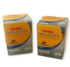 Kodak Advantix 200 Lot of 2 Color Print Film 25 Exp 40 Exp 06/2008 & 12/2008