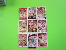 MARS ATTACKS OCCUPATION MARS ATTACKS SUPERSTARS COMPLETE 9 CARD SET