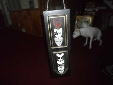 KISS ~ Rock Band ~ Wooden Decorative Plaque with Mask