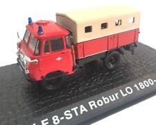 LF 8-STA Robur LO 1800-A Camión bomberos fire truck 1/72 ATLAS Diecast