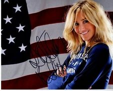 GRETCHEN BLEILER Signed Autographed OLYMPIC SNOWBOARDING Photo
