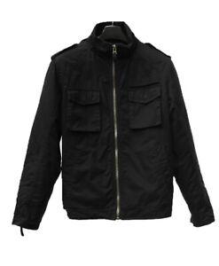 Black Cargo Jacket