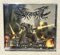 Saprobiontic Science Of War CD Morbid Generation Records German Death Metal