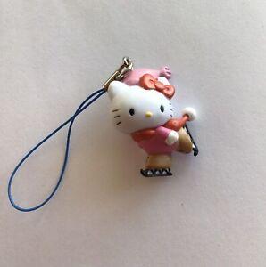 Sanrio Hello Kitty Skating Figure Key Chain Key Ring Cell Phone Charm