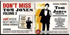 TOM JONES - PROMO 2 CD SET (2006) WHATS NEW PUSSYCAT?, DELILAH, HOUND DOG ETC