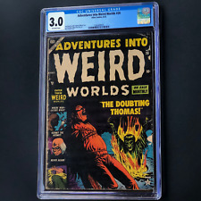 ADVENTURES INTO WEIRD WORLDS #20 (Atlas 1953) 💥 CGC 3.0 OW 💥 ONLY 2 IN CENSUS!