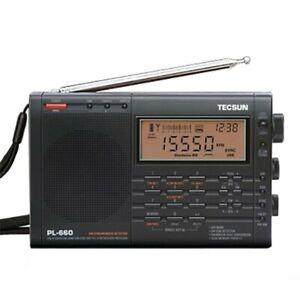 Tecsun PL-660 Radio Digital PLL AM FM SW LW SSB Air Band Radio Receiver sz1898