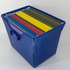 Lot Of 64 Pendaflex Genuine Hanging File Folders Letter Size Assorted Colors Box