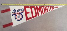 "Edmonton - Alberta 75th Anniversary Celebration 35"" Pennant Large"