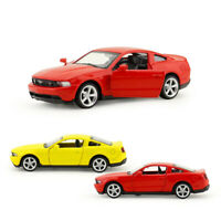 Ford Mustang GT Sports Car 1:43 Scale Model Car Diecast Gift Toy Vehicle Kids