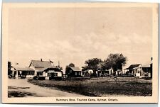 Summers Brothers Tourists Camp, Aylmer, Ontario Vintage Photo Postcard H24