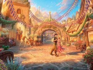 Ceaco Rapunzel Disney Thomas Kinkade 750 Piece Puzzle