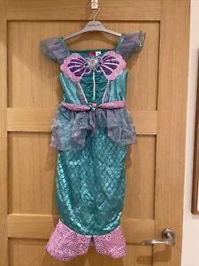 Disney Princess Little Mermaid fancy dress Costume Size 5-6