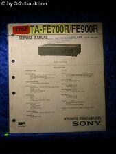 Sony Service Manual TA FE700R / FE900R Amplifier  (#1752)