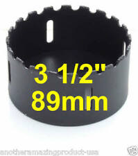 "3 1/2"" inch Tungsten Carbide Grit 3 1/2in Tile Hole Saw Concrete Drywall Hardie"