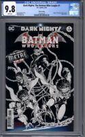 Dark Nights: The Batman Who Laughs #1  Origin Issue  3rd Print    CGC 9.8