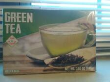 PURE Green Tea With Tag & String & Zero Calories 100-Count Tea Bags