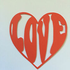 Scrapbooking - Card making- Craft- Embellishment- Groovy Love CHOOSE your colour